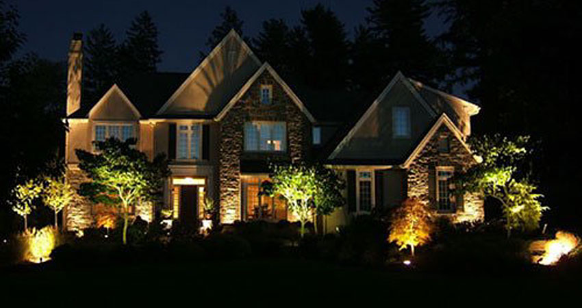 Custom Outdoor Lighting Desantis Landscaping Inc