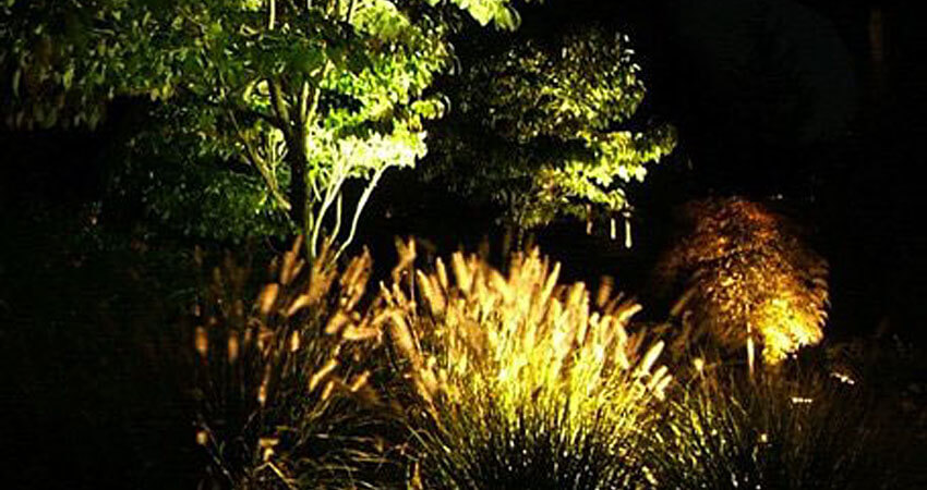 Custom outdoor lighting desantis landscaping inc low voltage landscape lighting systems are safe economical energy efficient and provide numerous benefits for modern homeowners lighting can be used to aloadofball Choice Image